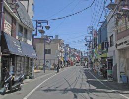 下総中山の商店街